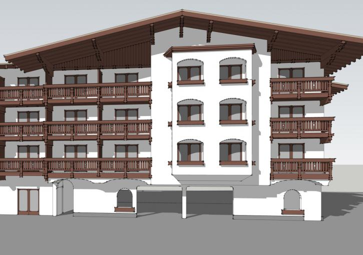 Bavarian Lodge Phase 2 Exterior Drawing