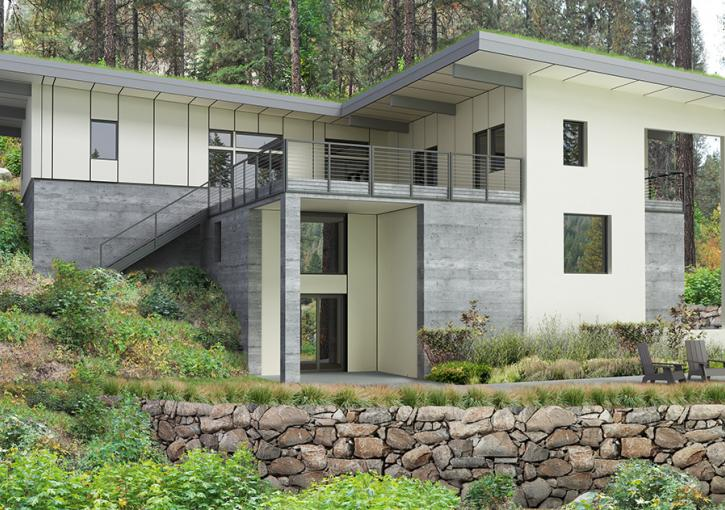 Leavenworth House 05 Exterior Rendering